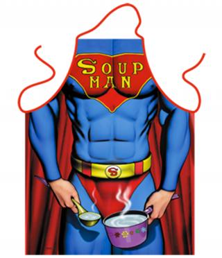 Престилка за готвене Супа мен