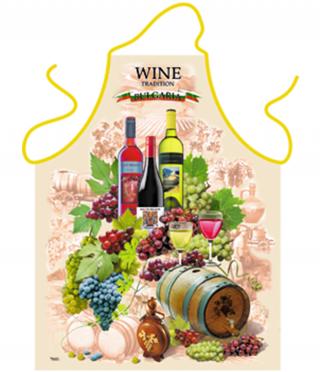 Престилка за готвене Вино