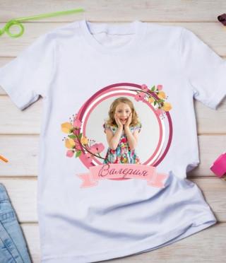 Персонализирана тениска за дете със снимка по ваш избор