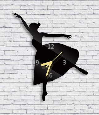 Стенен часовник Балерина