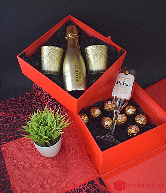 Подаръчна кутия Златен залез