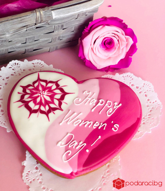 KASHPA Happy Women's Day in pink