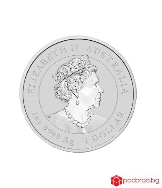 Сребърна монета Мечо Пух, 1 O