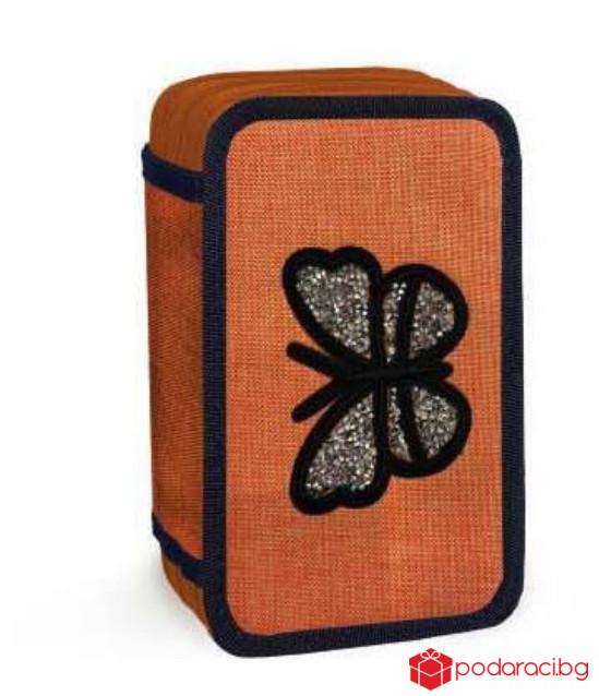 Несесер с 3 ципа Butterfly