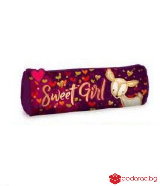 Кръгъл несесер Sweet Girl