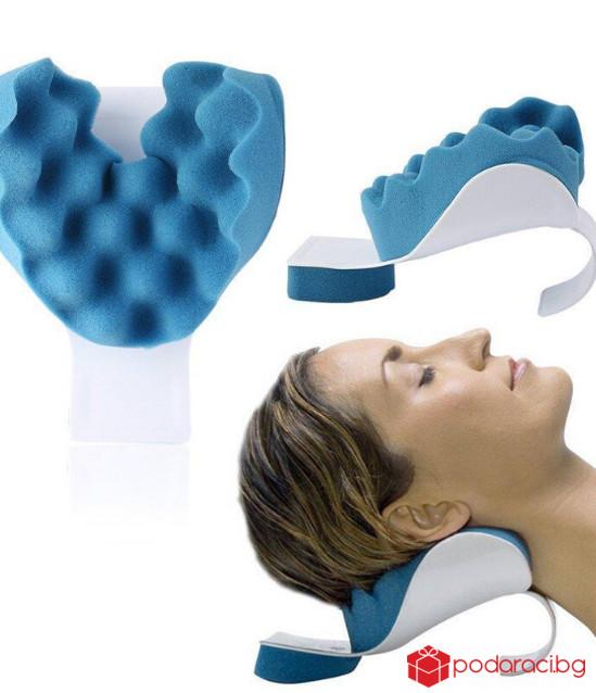 Анатомична облегалка за врат