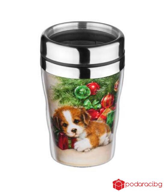 Термо чаша Куче с елха
