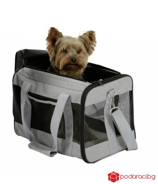 Транспортна чанта за куче Casual 41х28х29см