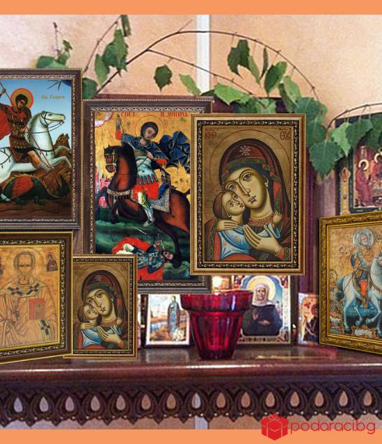 Репродукция на икона Свети Георги