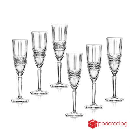 Brillante 6 чаши за шампанско