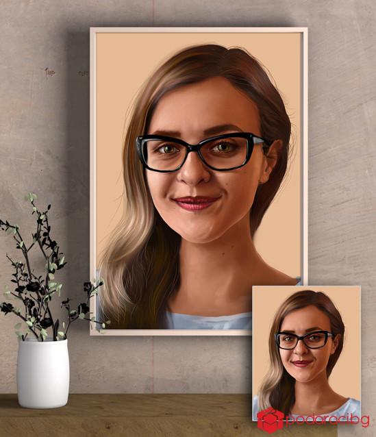 Дигитален арт портрет по снимка
