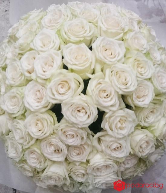 101 бели рози
