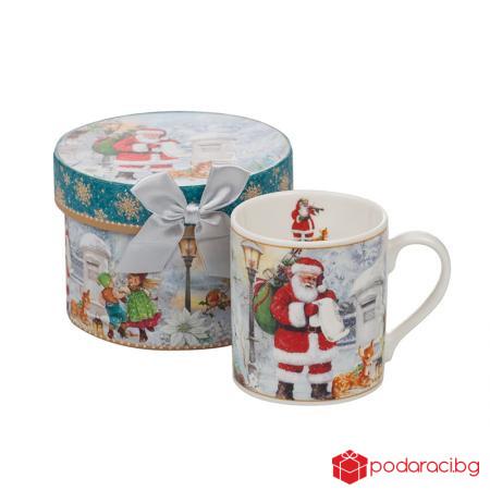 Чаша Дядо Коледа в кутия