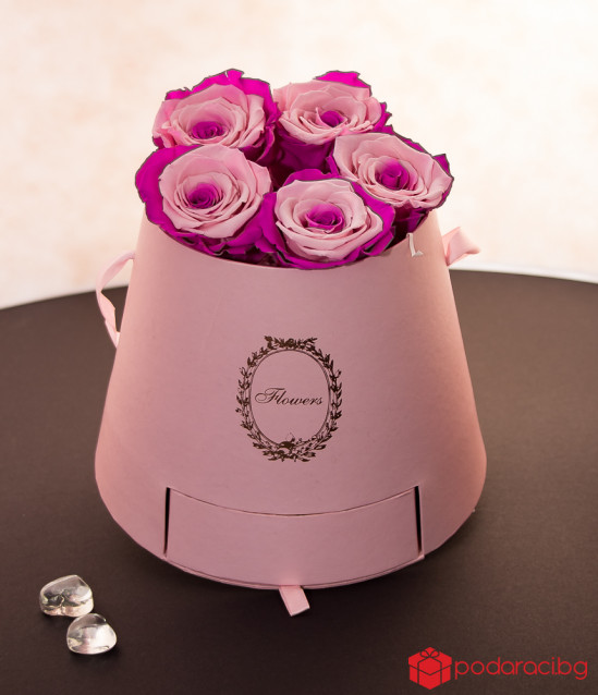 Gift for the ladies-box Pink