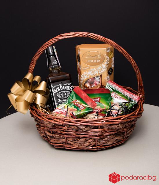 Подаръчна кошница Jack Daniels