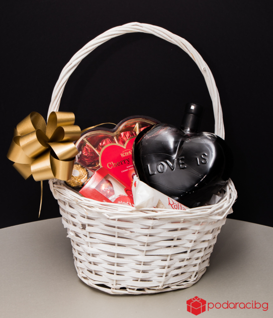 Подаръчна кошница Sweet Heart