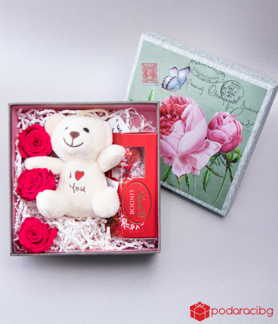 Set Teddy in Box