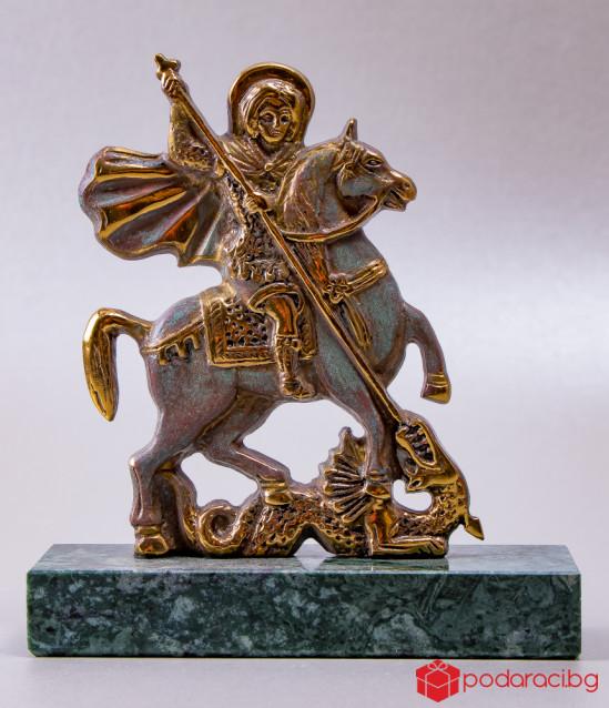 Бронзова статуетка Свети Георги