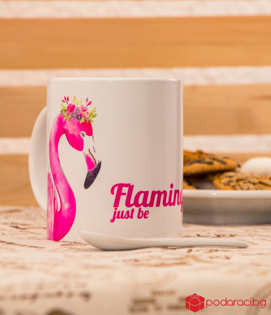 A cup of Flamingo