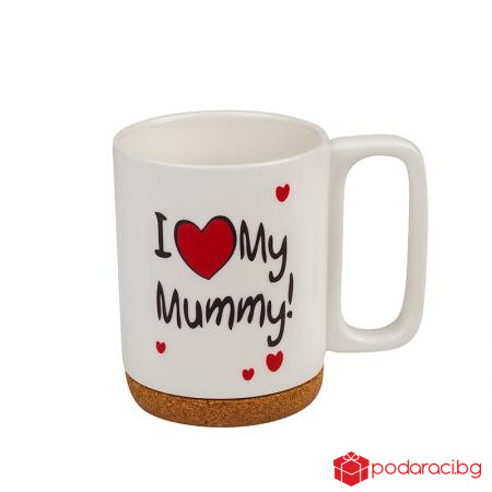 Чаша I Love My Mummy