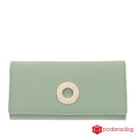 Дамско портмоне в цвят резеда ROSSI