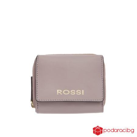 Дамско портмоне в лилаво - ROSSI