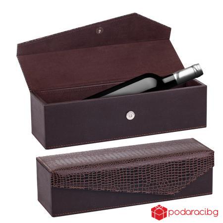 Кутия за вино за 1 бутилка