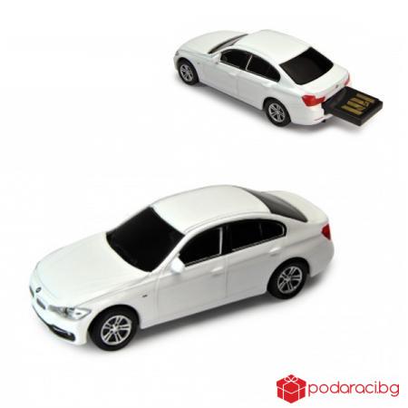 Флашка бяло BMW 335 i