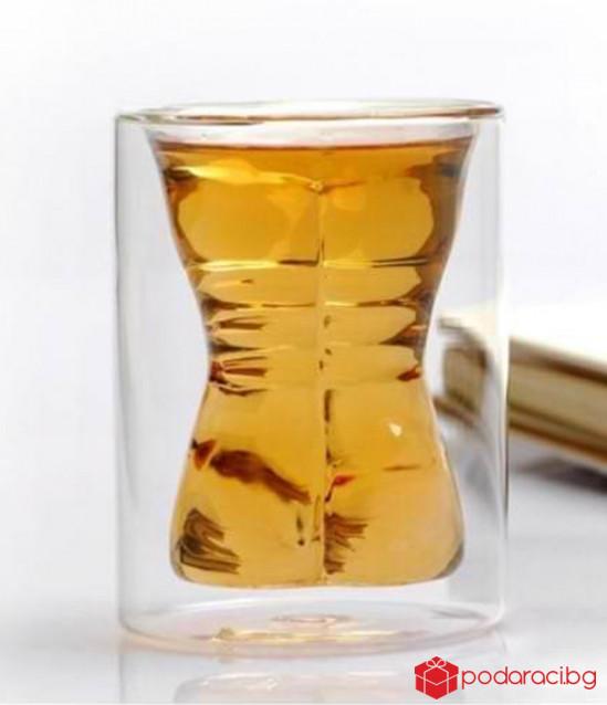 Чаша за бира с формата на тяло