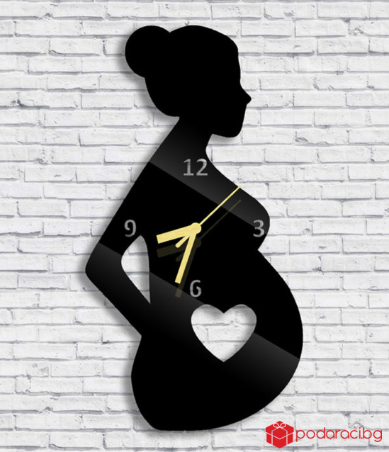 Wall Clock pregnant woman