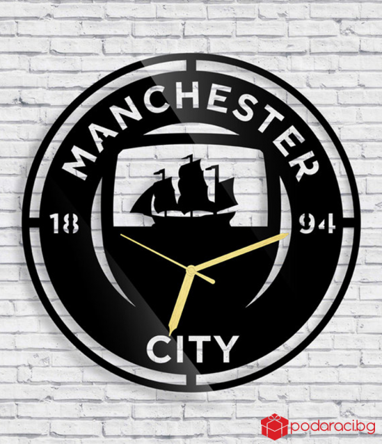Wall Clock Manchester City