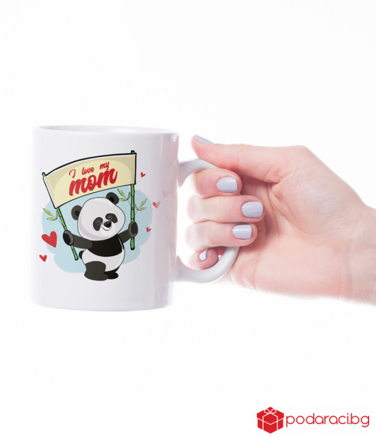 A mug for a mother with a panda