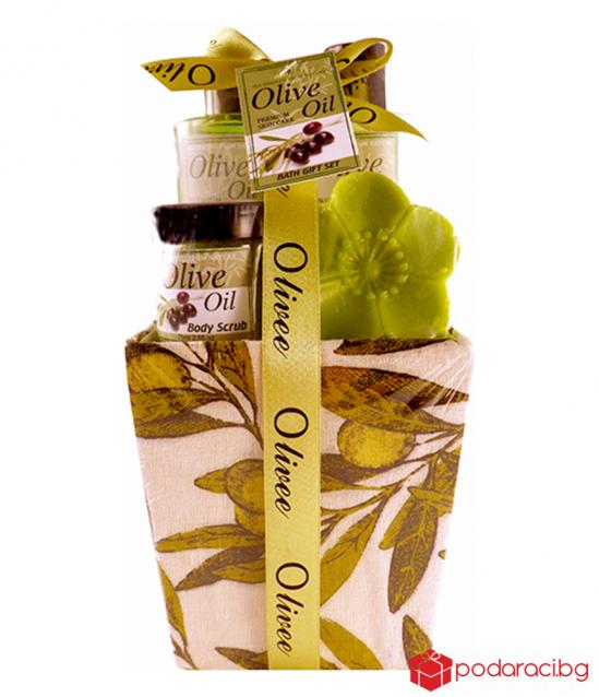 Дамски комплект Olive, 4 части