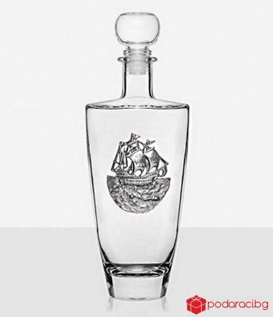 Бутилка уиски кораб