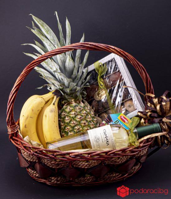 Подаръчна кошница с Плодове