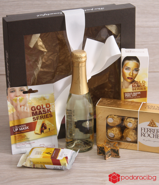 Ladies Gift Set Gold Spa Day