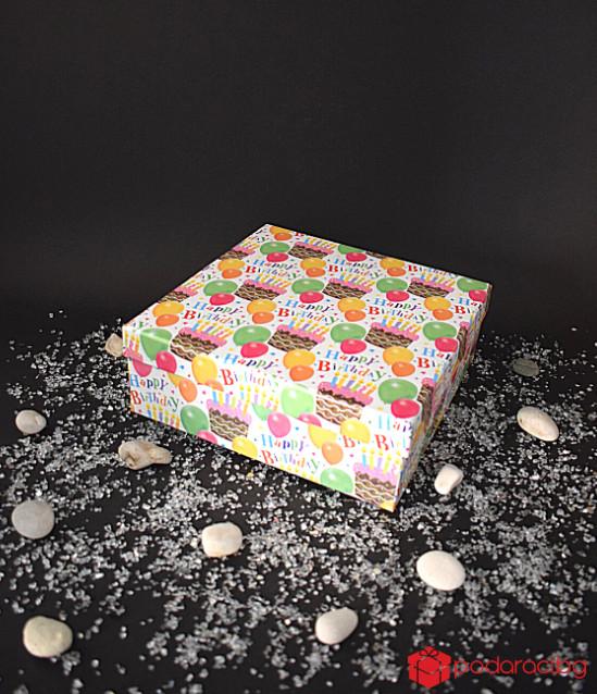Кутия на балони