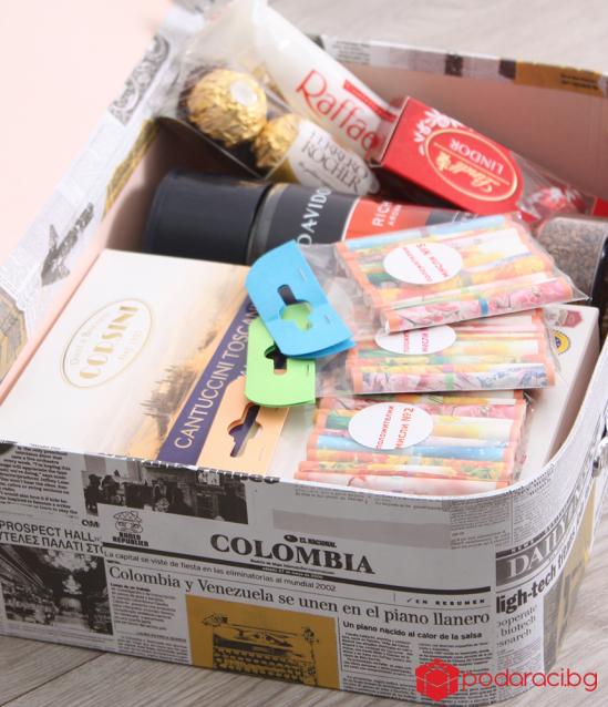 Подаръчно куфарче за любителите на разтворимо кафе