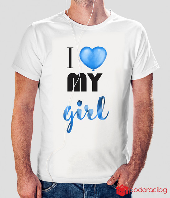 T-shirts for couples I love my girl and I love my boy