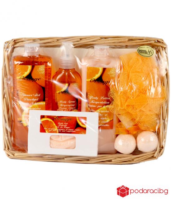 Luxury women set Orange, 7 parts