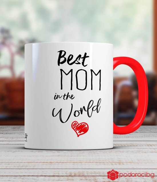 Чаша Best mom in the world