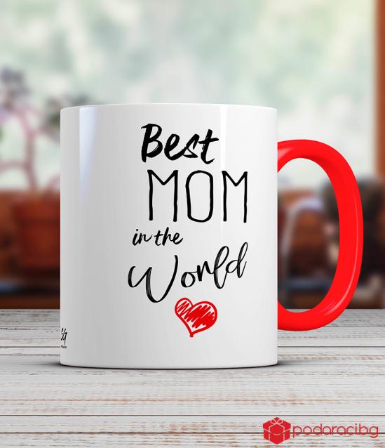 Чаша Best mom in the world