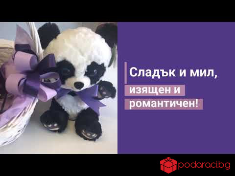 Подаръчна кошница Панда
