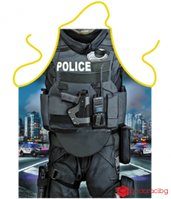 Apron for cooking Policeman