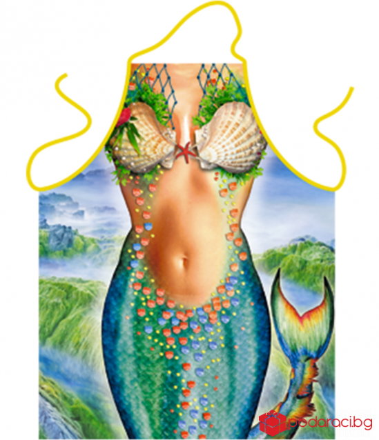 Apron for cooking Mermaid