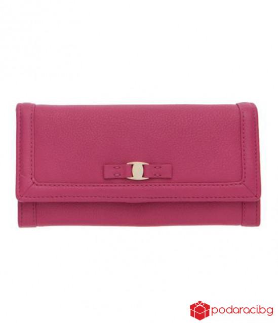Дамско портмоне в розово ROSSI
