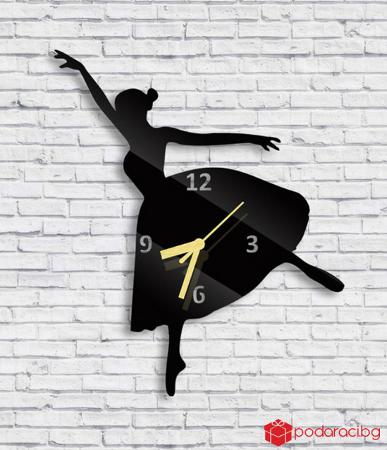 Wall Clock Ballerina