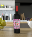 Wine with a personal label for women