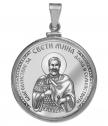 Silver pendant saint Mina