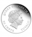 "Silver coin ""Tuvalu-Baby Pig"""